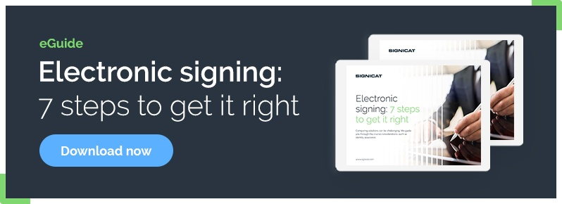 Eguide: Electronic Signing - 7 steps to get it right