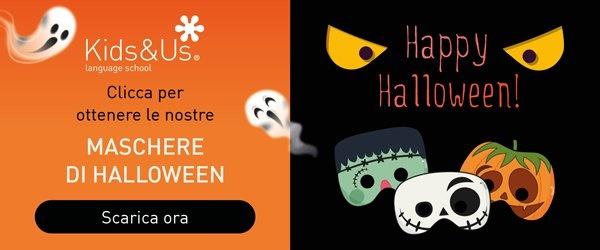 Scaricare le maschere di halloween di Kids&Us