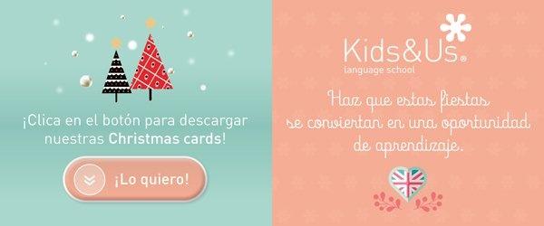 Postales navideñas de Kids&Us