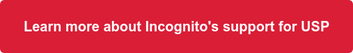 Learn more about Incognito's support for USP