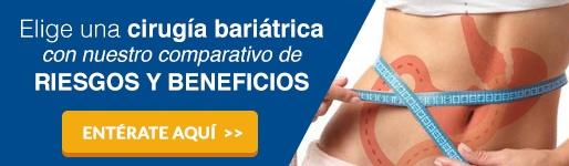 Elige una cirugía bariática con nuestro comparativo de riesgos y beneficios