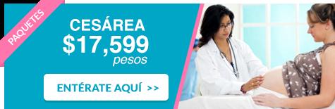 Hospital San Angel Inn - Paquete de cesárea