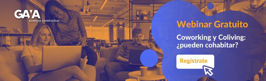Webinar Coworking y Coliving
