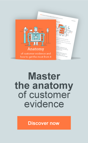 Anatomy of customer evidence