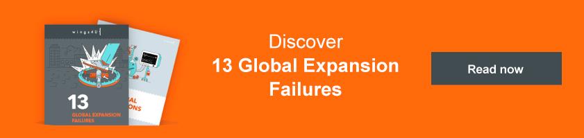 13 global expansion failures ebook