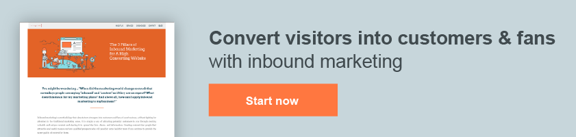 Convert visitors into customers & fans with inbound marketing