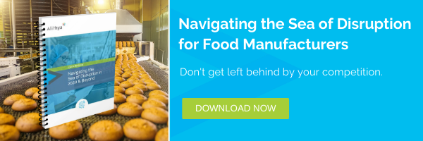 NAVIGATING THE SEA OF DISRUPTION FOR FOOD MANUFACTURERS