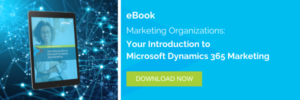 eBook: Your Introduction to Microsoft Dynamics 365 Marketing