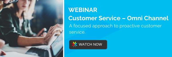 Webinar: Customer Service – Omnichannel