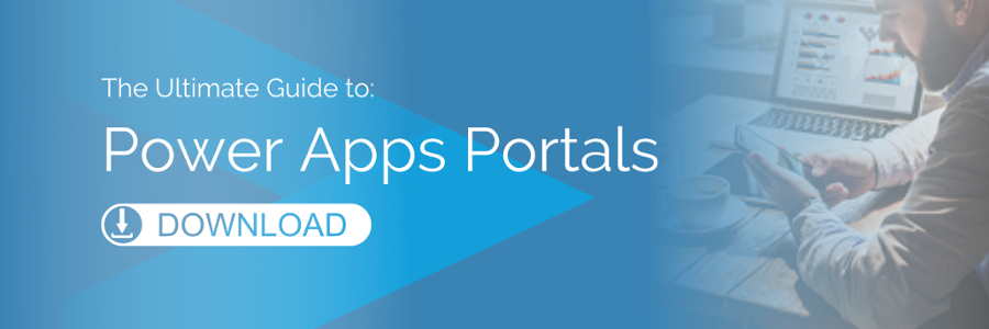 EBOOK: THE ULTIMATE GUIDE TO POWER APPS PORTALS