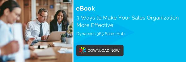 EBOOK: 3 WAYS TO MAKE YOUR SALES ORGANIZATION MORE EFFECTIVE