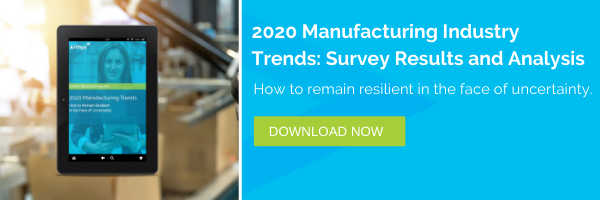 2020 Manufacturing Industry Trends: Survey Results and Analysis
