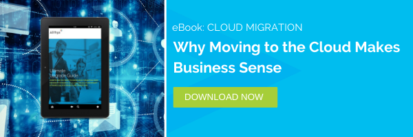 Business software - why moving to the cloud makes sense