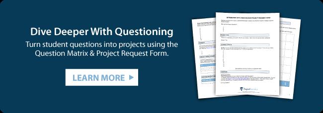 Question Matrix & Project Request Form