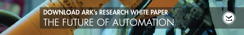 The Future of Automation, ARK research, white paper
