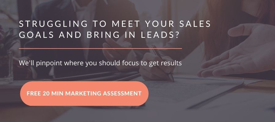 Marketing Assessment CTA