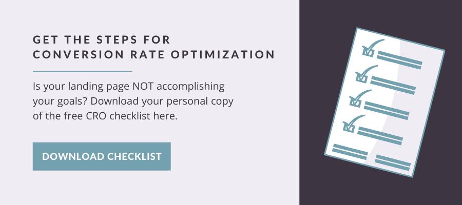 CRO Checklist Download