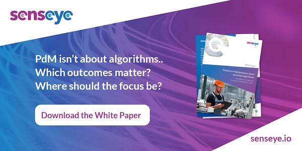 PdM isn't about algorithms