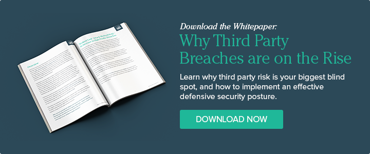 Download the Whitepaper: Why Third Party Breaches are on the Rise