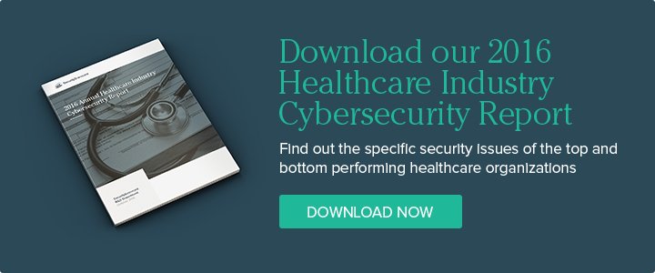 Download our 2016 Annual Healthcare Industry Cybersecurity Report