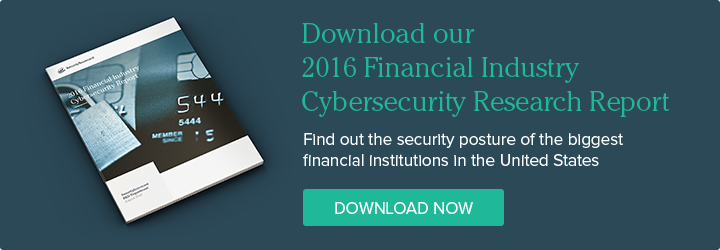 Download our 2016 Financial Industry Cybersecurity Research Report