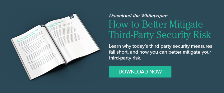 Download our Whitepaper: How to Better Mitigate Third-Party Security Risk