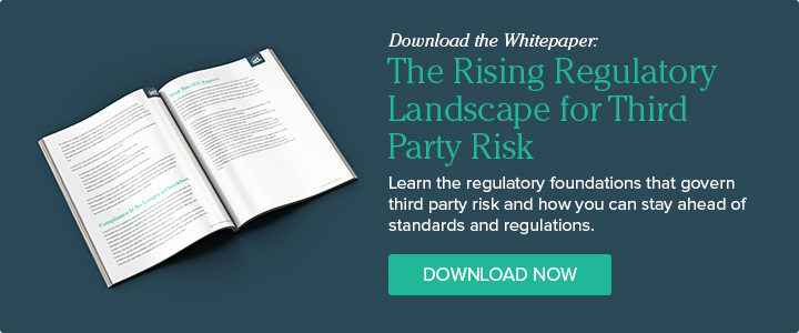 Download the Whitepaper: The Rising Regulatory Landscape for Third Party Risk