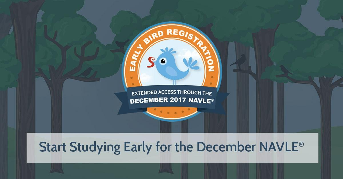 Early Bird Registration for December 2017 NAVLE