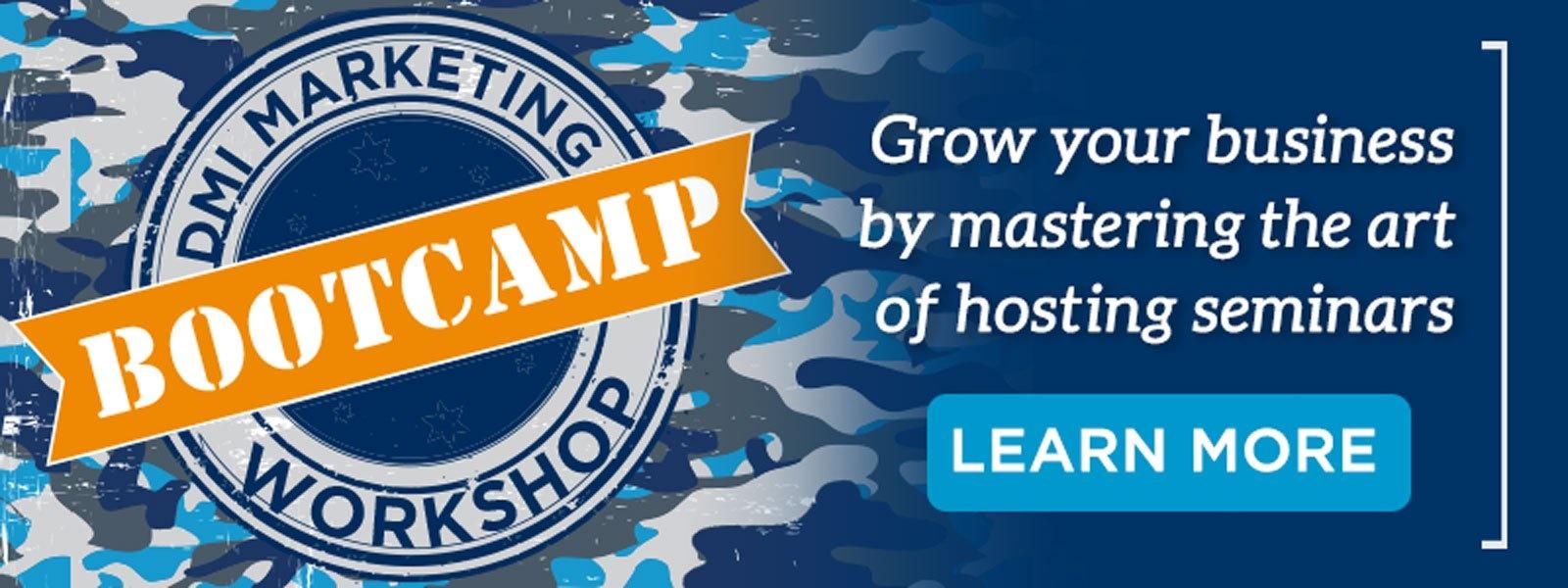 DMI Marketing Workshop Bootcamp