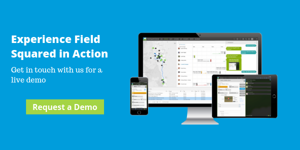 get a demo of Field Squared