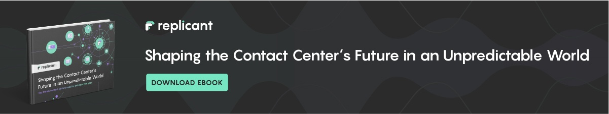 Download Shaping the Contact Center's Future in an Unpredictable World eBook