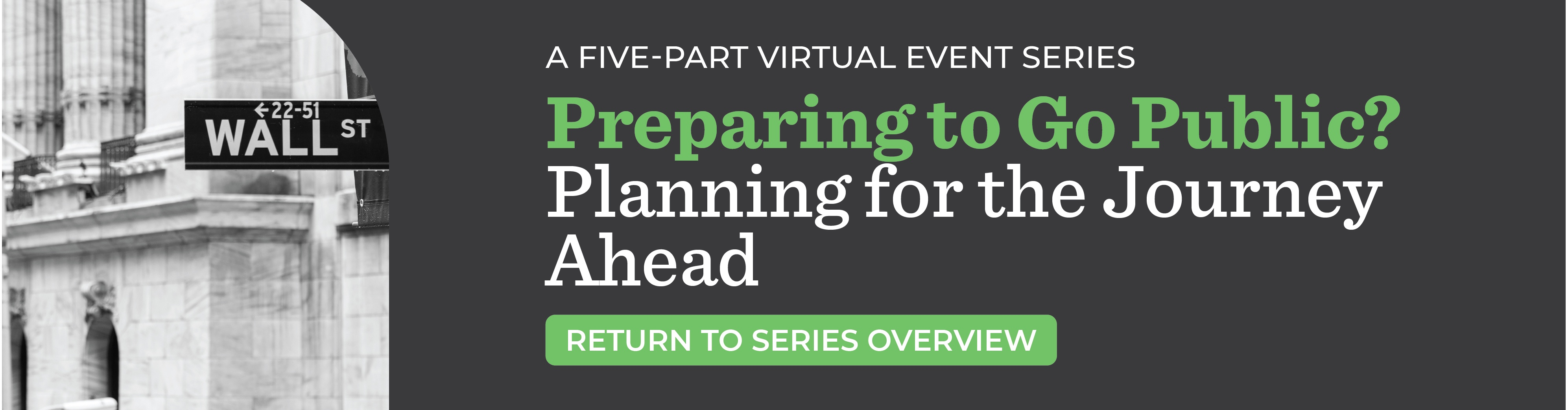 Preparing to Go Public? Planning for the Journey Ahead