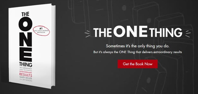 The_One_Thing_Get_The_Book