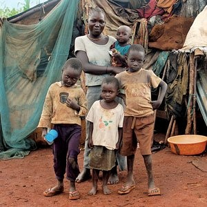 Orphaned and vulnerable children in Kitale, Kenya