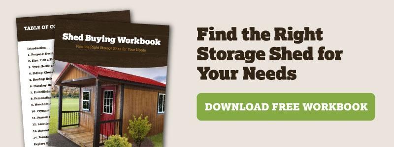 Download Free Shed Buying Workbook