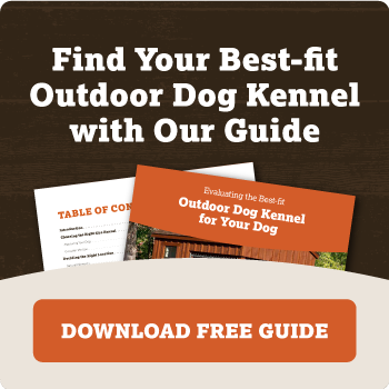 Find your best-fit outdoor dog kennel with our guide.