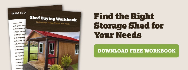Find the Right Storage Shed for Your Needs