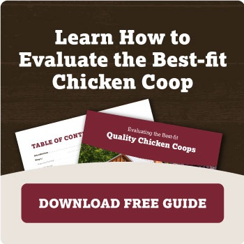 Learn How to Evaluate the Best-fit Quality Chicken Coops by Downloading Our Guide