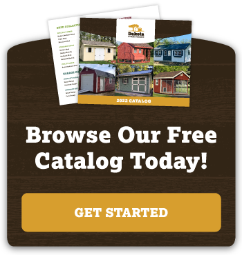 Download the Dakota Storage Buildings Catalog Today!