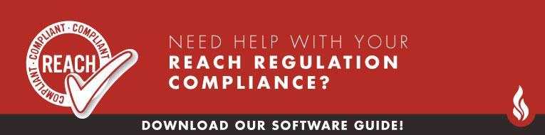 REACH REGULATION Compliance Software