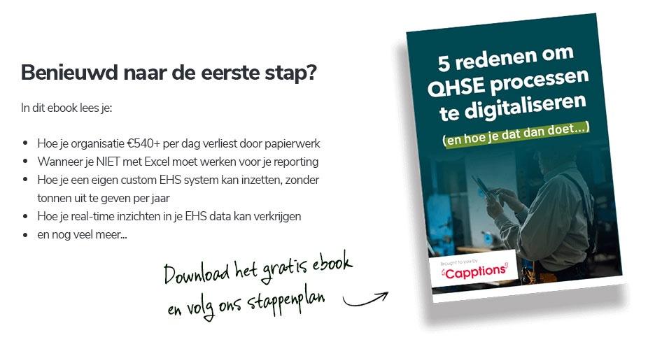 De eerste stap richting digitaliseren.