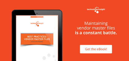 Best Practices Vendor Master File in Accounts Payable