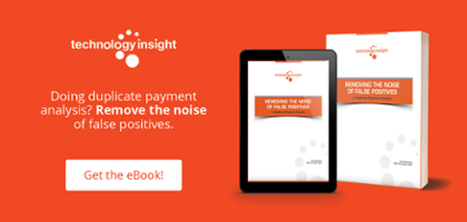 Removing the Noise of False Positives in Duplicate Payment Analysis