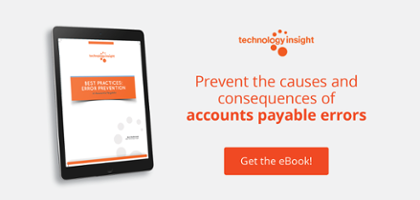Best Practices Error Prevention in Accounts Payable