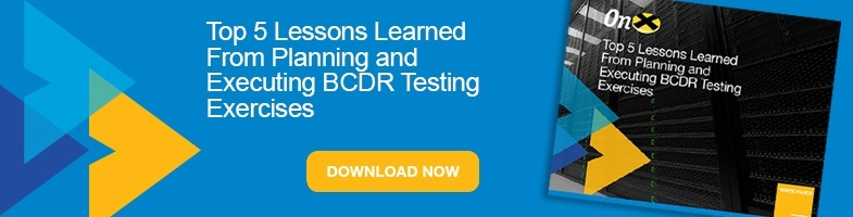 BCDR testing