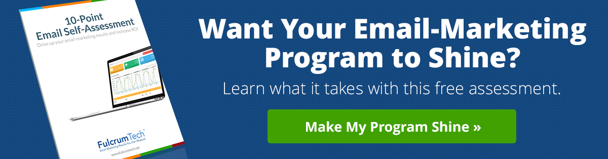 Want Your Email-Marketing Program to Shine?