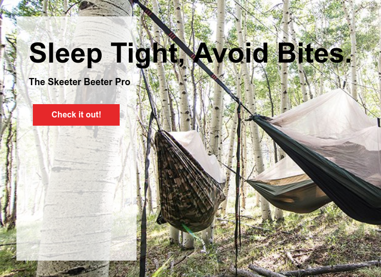 Sleep Tight, Avoid Bites.  The Skeeter Beeter Pro Check it out!