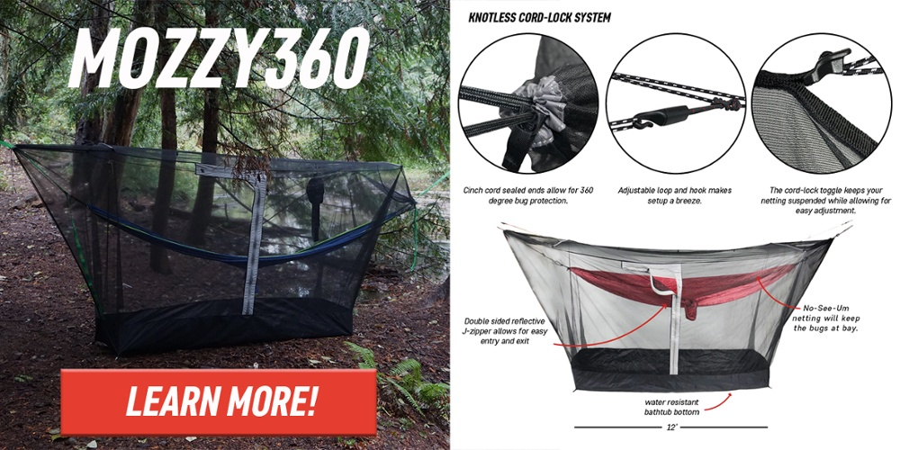 ALL NEW MOZZY360 BUG SHELTER!