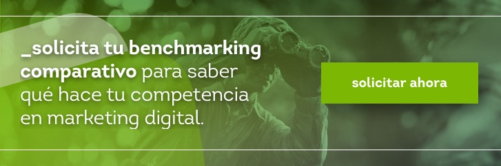 Hacer benchmarking comparativo