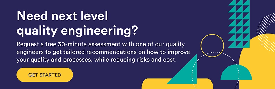 quality engineering free assessment